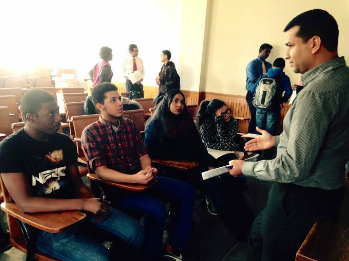 Morgan Stanley's Tech & Data Team met with DDC students | Double